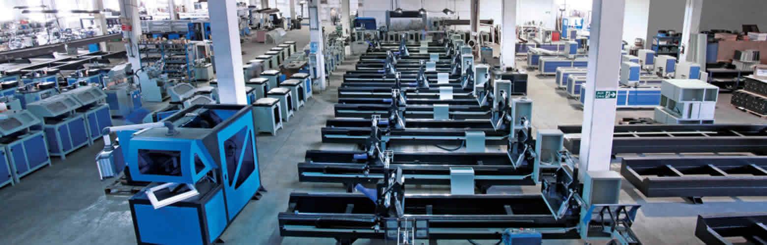 Fabrica Ozgenc de utilaje tamplarie pvc si aluminiu