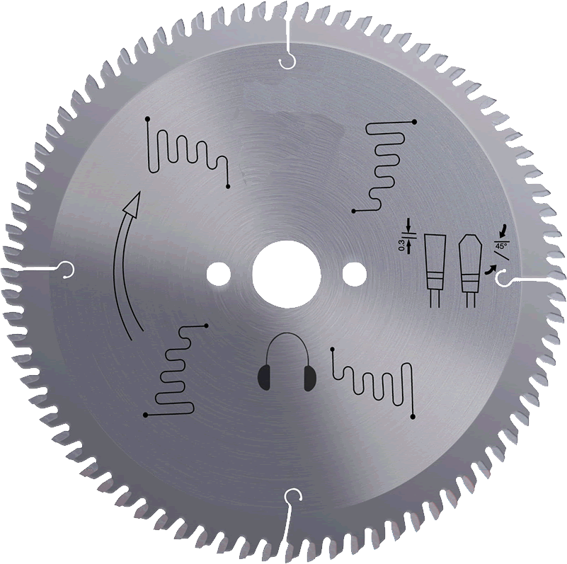 Disc de debitat profile PVC & Aluminiu